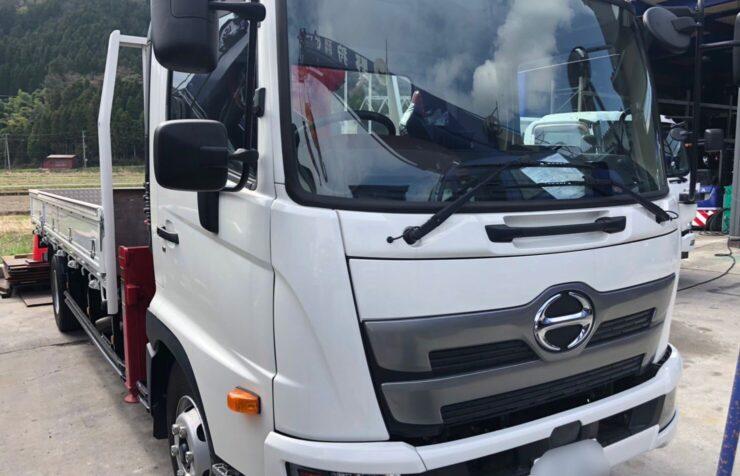 HINO 4tクレーン付トラック