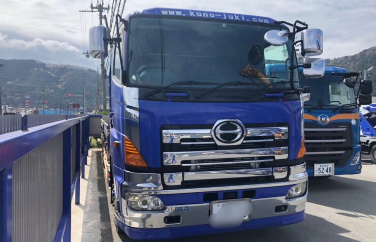 HINO 10tクレーン付トラック